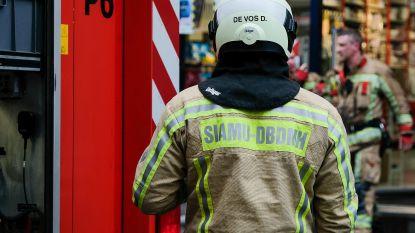 Brandweer moet uitrukken voor brandende schuur