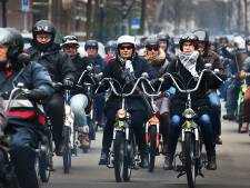 Puchrijders vechten tegen verbod in Den Haag: 'Zelf bepalen wanneer we de weg op gaan'