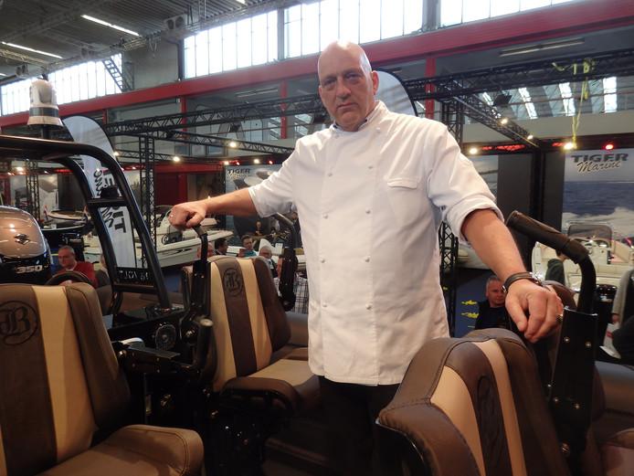 Chef-kok Herman den Blijker.