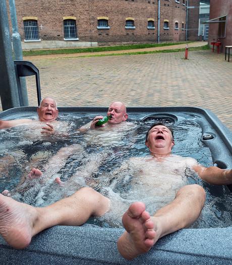 Vierdaagselopers genieten van luxe in Koepelgevangenis