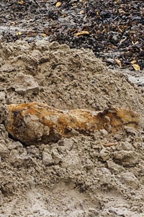 Mogelijke WOII-bom in Kruiskamp blijkt stuk oud ijzer