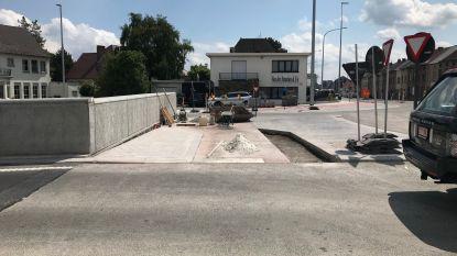 Fietspad naast betonnen muurtje is meter opgeschoven. Probleem opgelost?