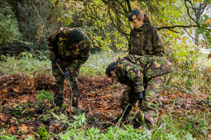 Militairen zijn opnieuw begonnen met een grote zoekactie naar Anne Faber.