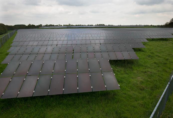 Solarpark Azewijn is verouderd.