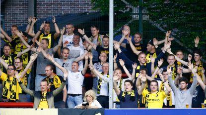Lierse geeft forfait, fans picknicken in Herman Vanderpoortenstadion