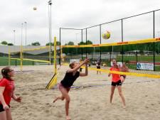 Beach Arena in Roosendaal voor volleyballers van Symmachia