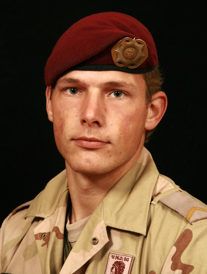 Mark Weijdt, in Uruzgan omgekomen militair.