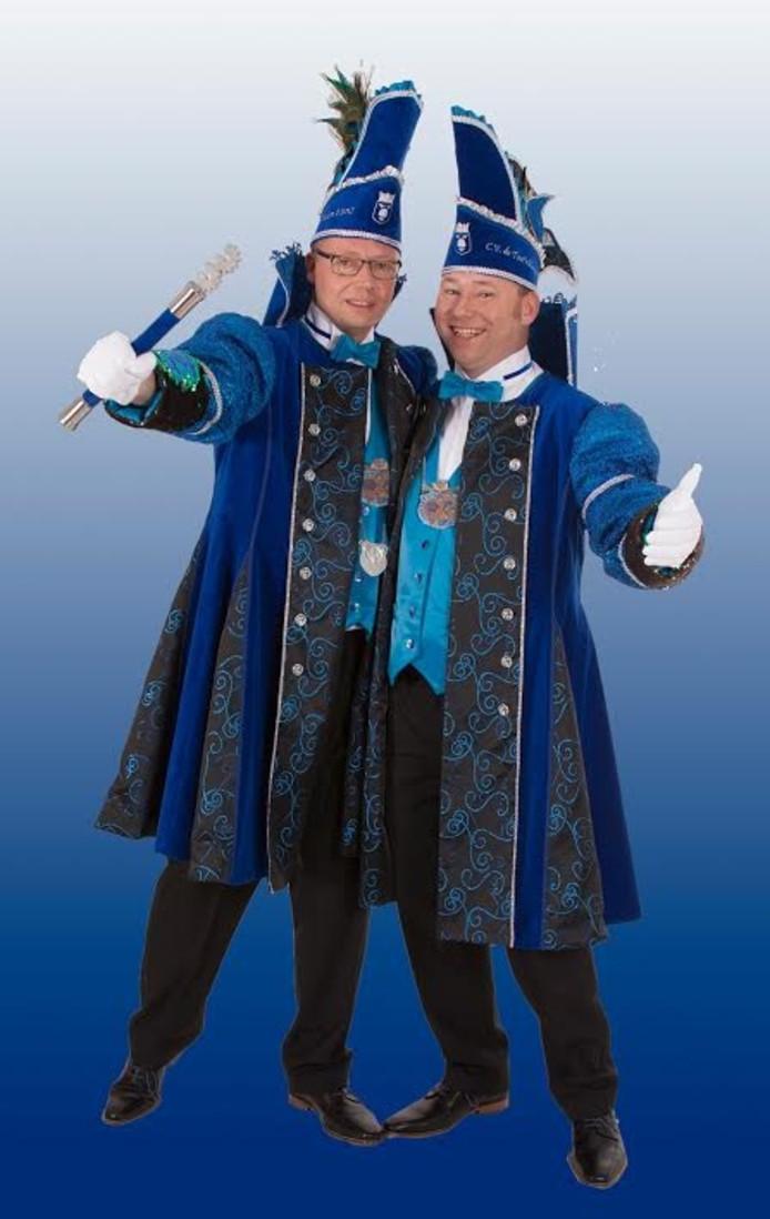 Prins Jan Willem en adjudant Maikel.