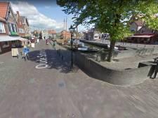 Proef met autovrije Oude Schans bij botterhaven in Bunschoten