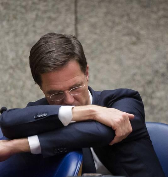 Premier Mark Rutte was niet blij met de gebrekkige voorbereiding van Van der Steur