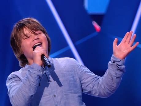 The Voice Kids-coaches 'vechten' om George Michael-superfan Samuel (11)