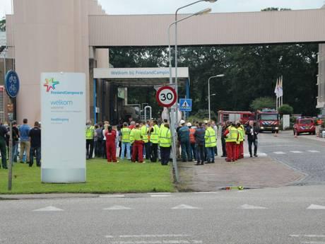 Zuivelfabriek Lochem ontruimd vanwege lekkend zuur, wegen dicht