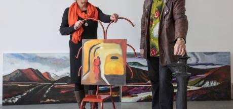 Kunstenaarsechtpaar eindelijk samen in een expositie Cacaofabriek Helmond