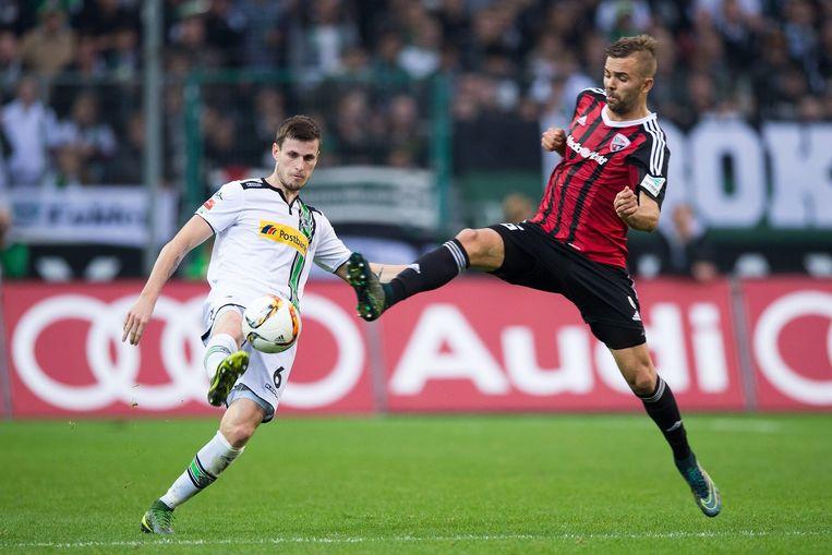 BMG speelt gelijk tegen FC Ingolstadt. Beeld epa