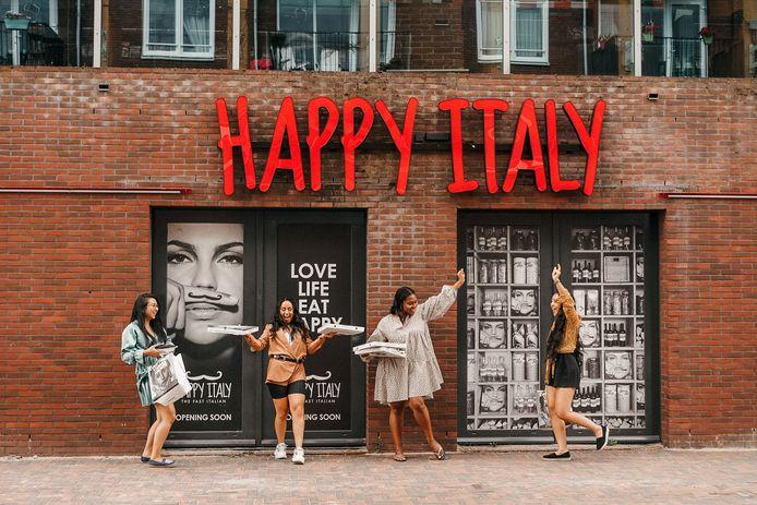 Happy Italy opent woensdag om 17.00 uur de deuren op de Markt 42 in Spijkenisse