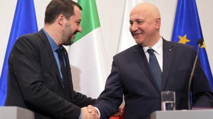 """Salvini: """"Italië en Polen moeten tegengewicht bieden aan Frans-Duitse as"""""""