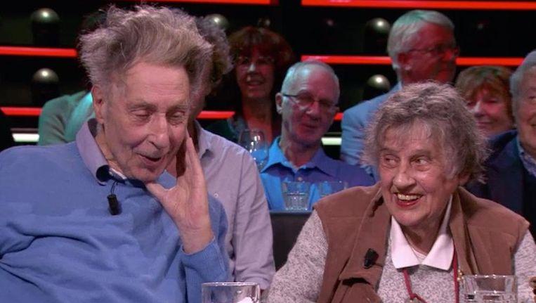 Maarten en Eva Biesheuvel waren in oktober te gast in De Wereld Draait Door. Beeld BNNVARA