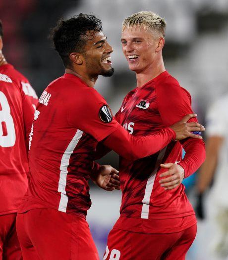 Slot geniet van AZ: 'Wist niet dat we zo dominant konden zijn in een Europese wedstrijd'