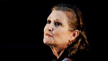 """Carrie Fisher eerst niet onder de indruk van 'Star Wars': """"Een klein sciencefictionfilmpje"""""""