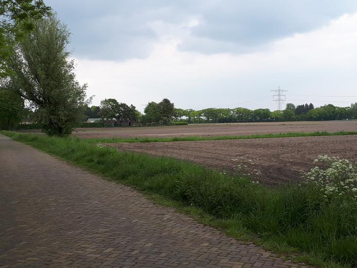 Middendonk-Oost gezien vanaf de weg Middendonk.