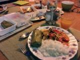 Niet uit eten, dus bestelden we bij The Thai Orchid: Thaise soep als ultiem medicijn tegen verkoudheid