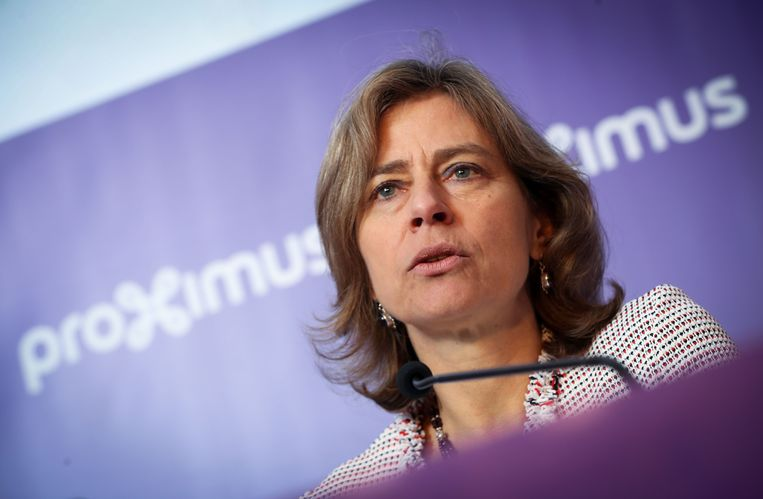 Dominique Leroy. Beeld AFP