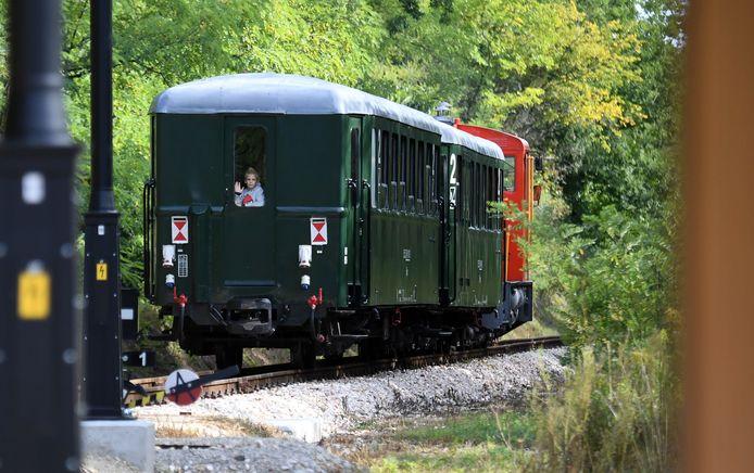 Het treintje 'van nergens naar nergens' kreeg 2 miljoen euro subsidie uit Brussel.