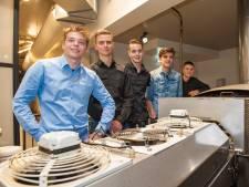 Studenten gaan strijd aan met misvormde siroopwafels