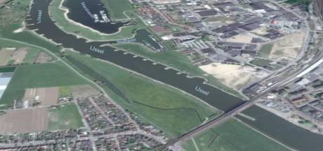 Energiecentrale onder water: IJssel bij Zutphen proeftuin groene stroom