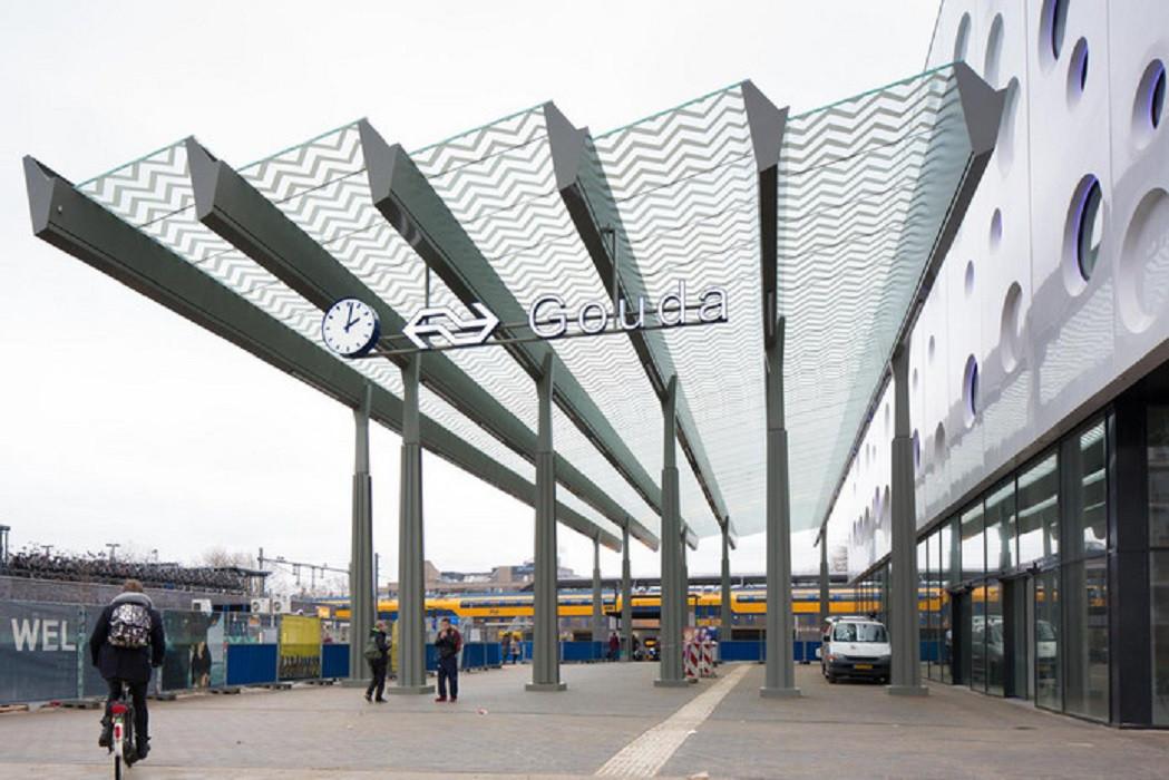 Station Gouda is de hele week gestremd.