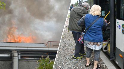 Brand bij Umicore in Hoboken flakkert even op, na urenlange strijd om hem onder controle te krijgen