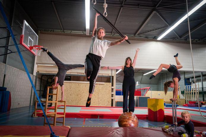 De nieuwe circusschool in Arnhem.
