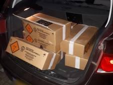 Jongemannen (19) in IJsselstein betrapt met kofferbak vol zwaar illegaal knalvuurwerk