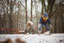 Zinzi en Sepp hadden een topdag in de sneeuw bij de Kuilen in Mill.