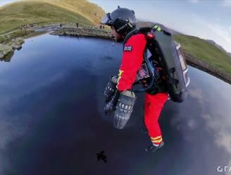 Met dit Iron Man-pak gaan ambulanciers naar slachtoffers vliegen
