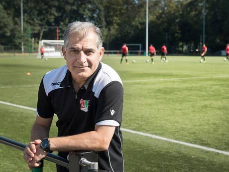 Trainer Hashemi gestopt bij amateurs NEC