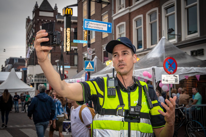 Politievlogger Jan Willem
