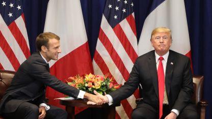 """Trump: """"Idee voor Europees leger is zeer beledigend"""""""