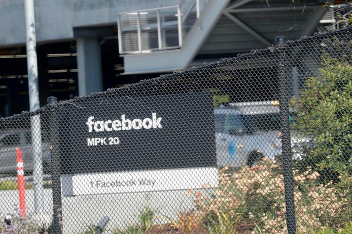 Le siège de Facebook à Menlo Park (Californie)