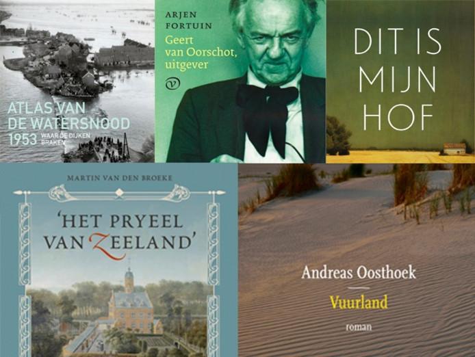 Nog vijf boeken in de race voor de Zeeuwse Boekenprijs 2016.