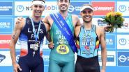 Triatleet Jelle Geens eindigt als derde in Hamburg