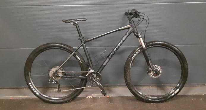 De gestolen mountainbike.