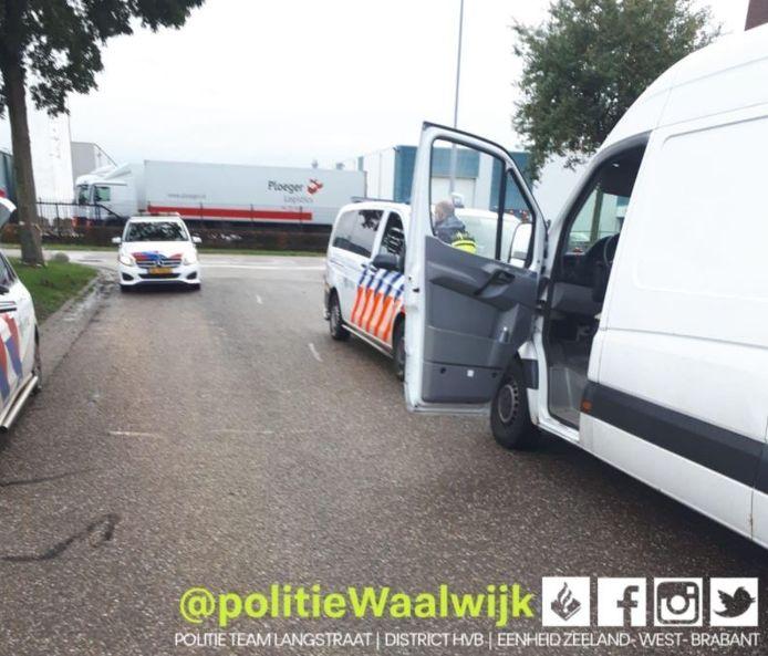 De buit werd gevonden in het voertuig van de verdachten.