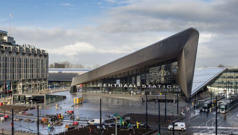 Het vernieuwde station Rotterdam Centraal. Beeld ANP XTRA