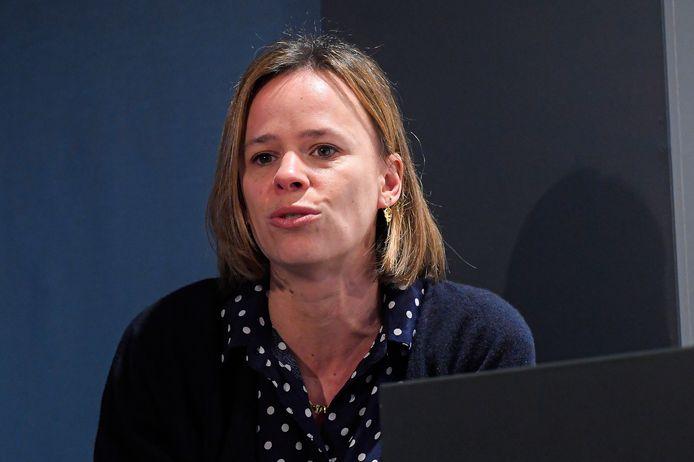 La ministre de l'Enseignement obligatoire Caroline Désir (PS).