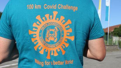 Bijna 14.000 wandelaars gaan 100 km Covid Challenge aan