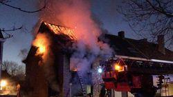 Brand in woning agent wellicht aangestoken