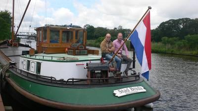 Vrachtschip Stad Breda komt weer even 'thuis'