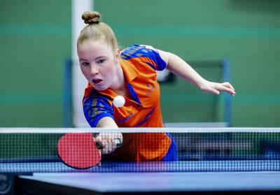 Tafeltennissters missen kwalificatie voor Spelen