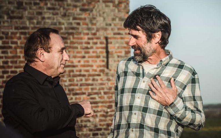 Bert Winnen en Geert Derom in een duobaan (Foto Gewoon Wit)
